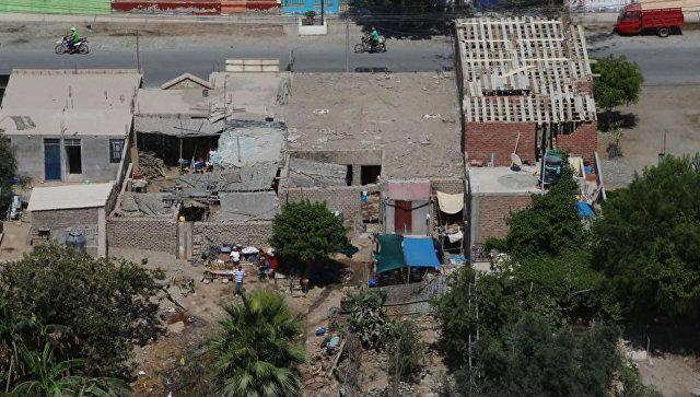 Землетрясение в Перу в регионе Арекипа