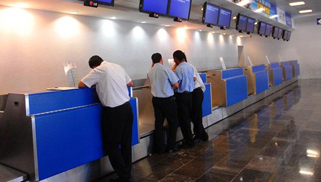 Аэропорт в Канкуне, Мексика. Архивное фото