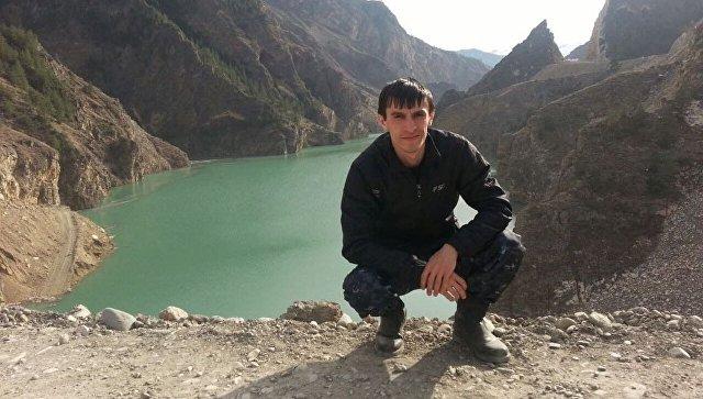 Лейтенант полиции Магомед Нурбагандов