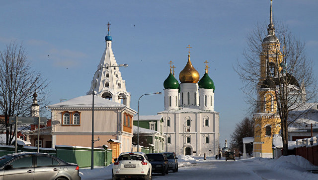 Город Коломна. Архивное фото