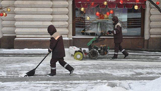 Сотрудники коммунальных служб Москвы. Архивное фото