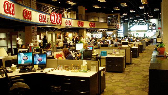 Работа телеканала CNN. Архивное фото