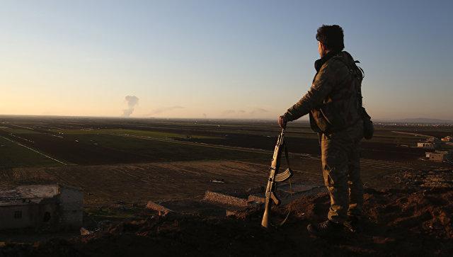 МинобороныРФ возложило вину наСША заситуацию всирийском Африне