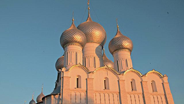 Ростов великий, жемчужина Золотого Кольца. Архивное фото