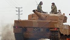 Турецкая военная техника, используемая в операции в Африне. Архивное фото