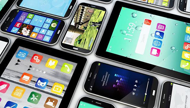 Коллекция смартфонов и планшетов