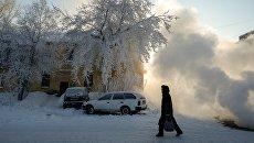 Зима. Архивное фото