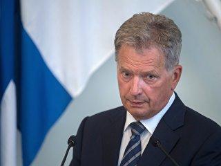 Президент Финляндии Саули Ниинистё. Архивное фото