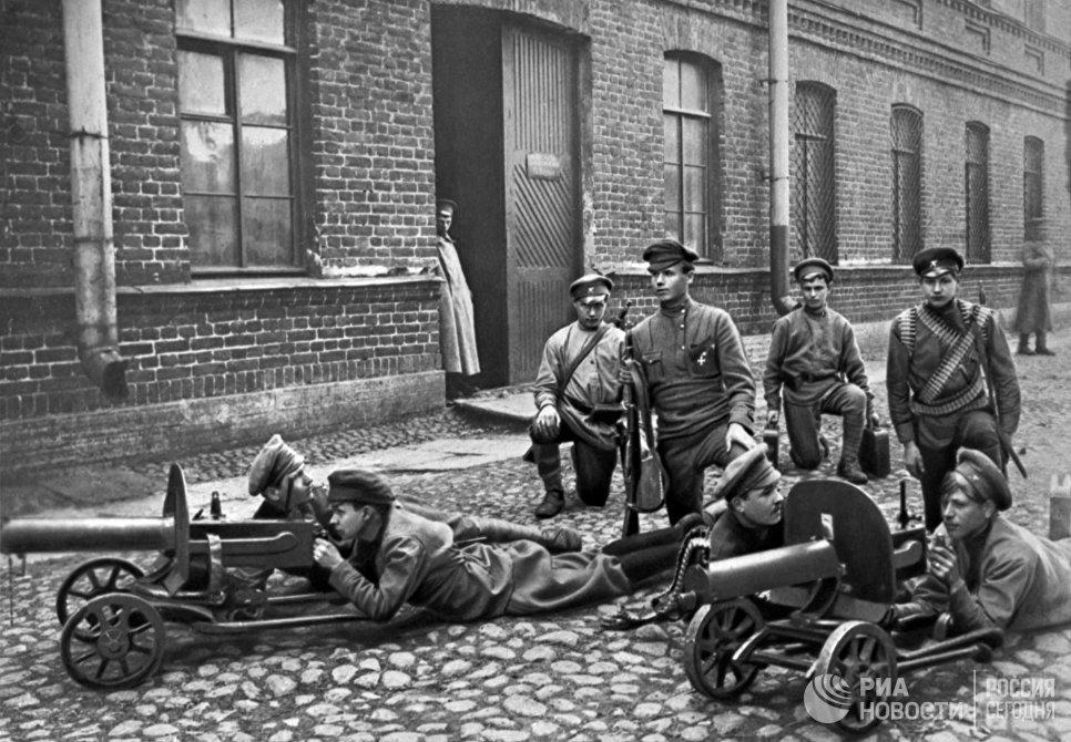 Первые московские пулеметные курсы по подготовке командного состава РККА. Москва, 1920 год