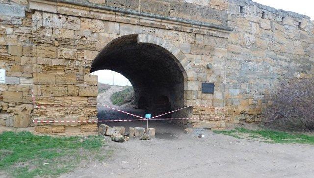 Крепость Ени-Кале закрыта для посещения