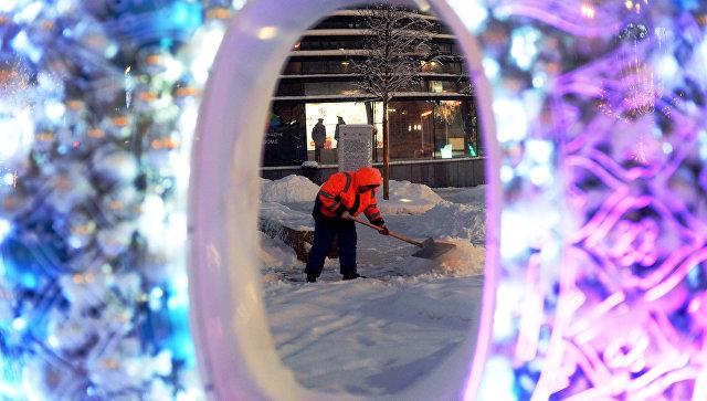 Снегопад в российской столице установил абсолютный рекорд
