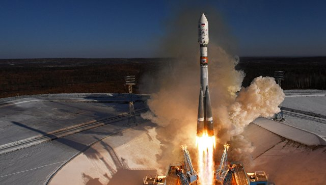 Старт ракеты-носителя Союз-2.1а. Архивное фото