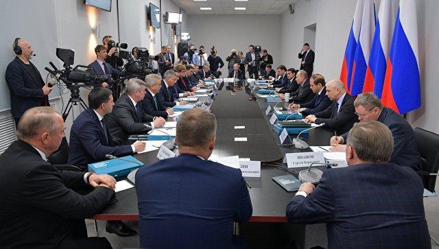 Путин поручил подготовить главе Минэкономики доклад для снятия моратория насоздание ОЭЗ