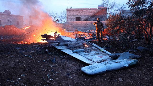 Image result for сбитый в сирии самолет