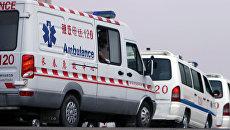 Скорая помощь в Китае. Архивное фото