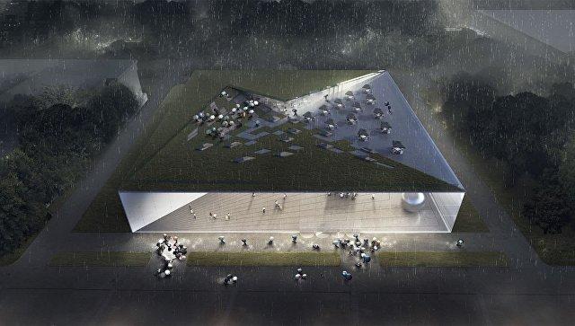 Проект павильона атомной энергии на ВДНХ