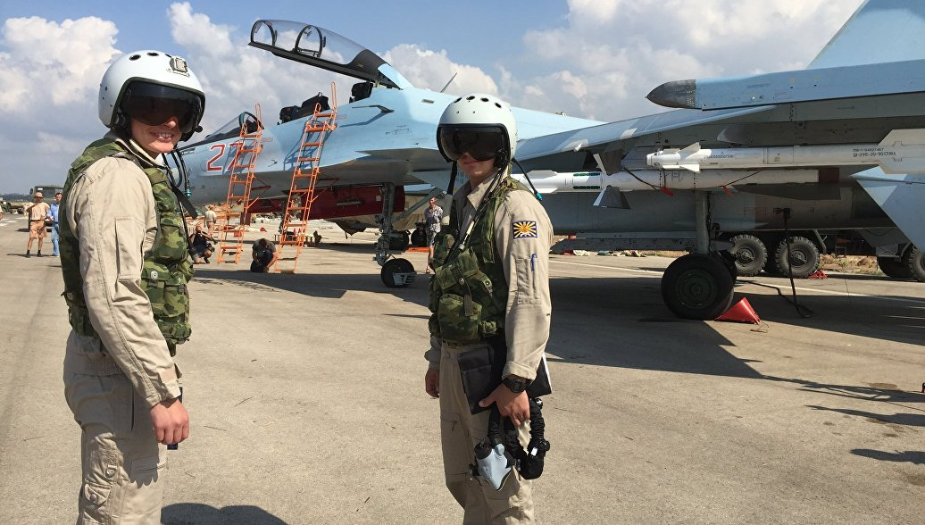 летчики в сирии