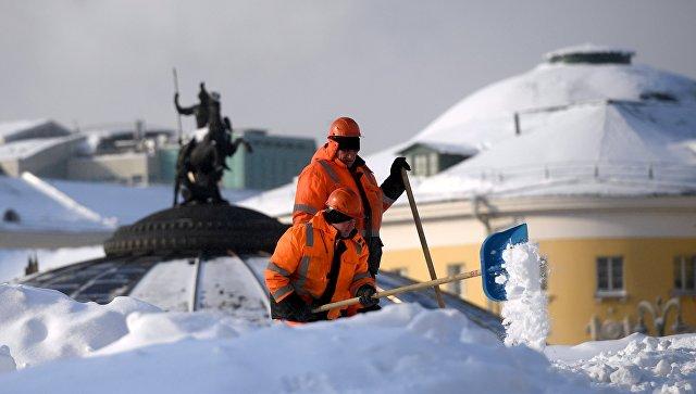 С московских улиц вывезли более 30 миллионов кубометров снега с начала зимы