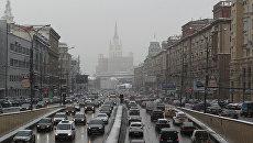 Автомобильные пробки в Москве. Архивное фото