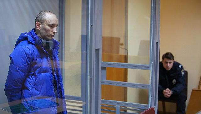 Военнослужащий РФ Александр Баранов, похищенный Службой безопасности Украины в ноябре 2016 года на границе с Крымом. 8 февраля 2018