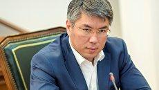 Временно исполняющий обязанности главы Республики Бурятия Алексей Цыденов