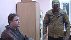 Гражданин Украины Константин Давыденко, задержанный сотрудниками ФСБ РФ в Симферополе за шпионаж. 12 февраля 2018