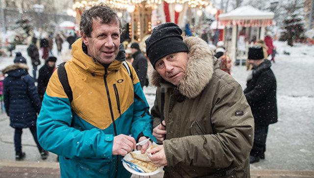 Около 250 тыс. блинов съели гости фестиваля «Московская масленица»