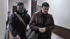 Гражданин Украины Константин Давыденко, задержанный в Симферополе, в Лефортовском районном суде Москвы. 12 февраля 2018