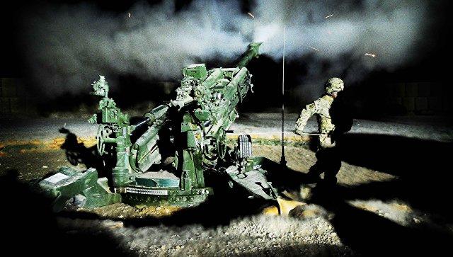 Американская полевая буксируемая гаубица калибра 155 миллиметров M777