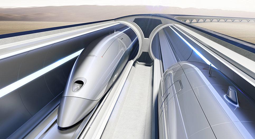 Концепт транспортной системы Hyperloop Transportation Technologies