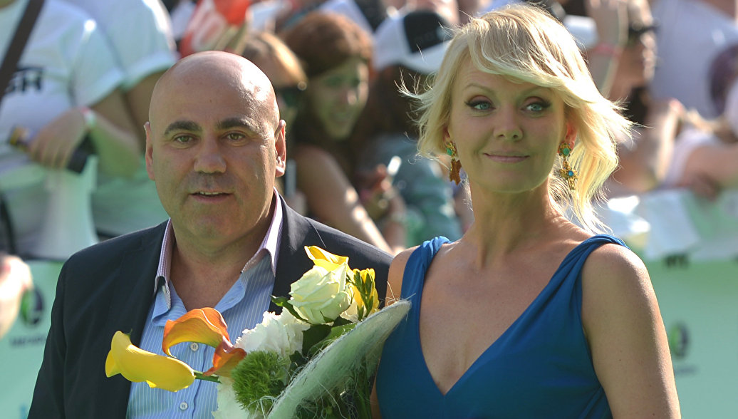 Певица Валерия с супругом продюсером Иосифом Пригожиным