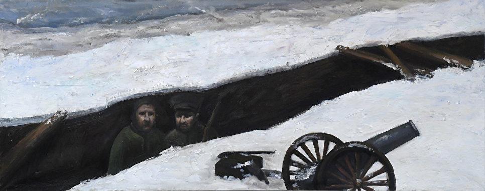 В окопе, Ивлева Олеся