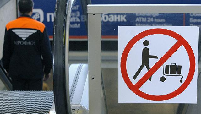 Повышены меры безопасности в аэропортах Москвы