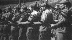 Сто лет со дня создания Красной Армии. Архивные кадры ко Дню защитника Отечества