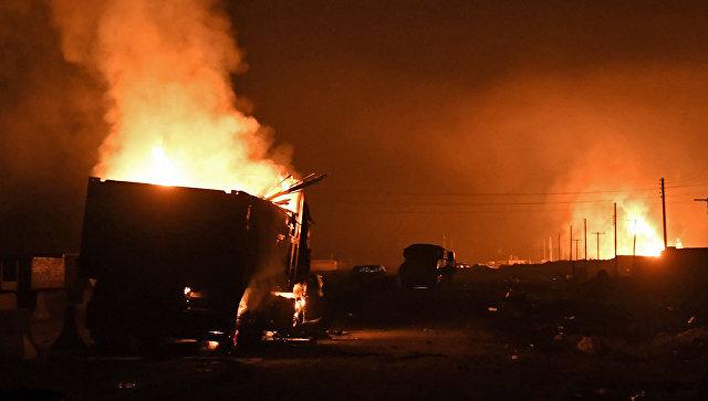 Источник сообщил об ударе турецкой армии по гуманитарному конвою в Сирии
