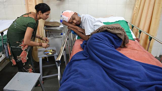 В Индии удалили самую большую в мире опухоль мозга
