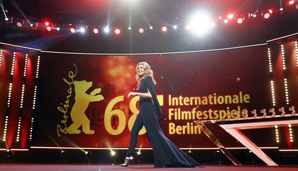 Анке Энгельке на церемонии закрытия 68-го Берлинского международного кинофестиваля Берлинале - 2018