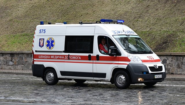 Автомобиль скорой помощи в Киеве. Архивное фото