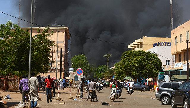 Посольство Франции в Уагадугу подверглось нападению