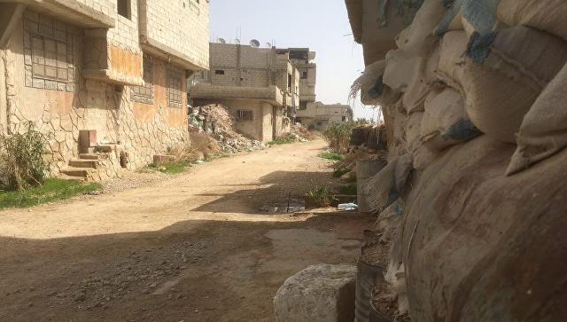 Восточная Гута в Сирии. 4 марта 2018