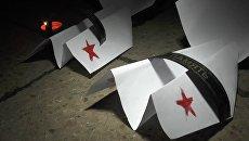 Свечи и бумажные самолеты: севастопольцы почтили память жертв крушения Ан-26
