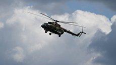 Военно-транспортный вертолет. Архив