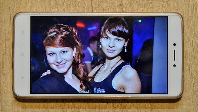 Фото Ольги Логачевой и Насти Рыбки в Бобруйске из личного архива Ольги. Архивное фото