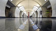 Станция Бутырская Люблинско-Дмитровской линии Московского метрополитена. Архивное фото