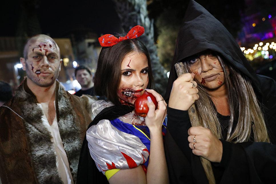 Шествие зомби в Тель-Авиве, Израиль