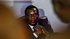 Президент Зимбабве Эммерсон Мнангагва. Архивное фото