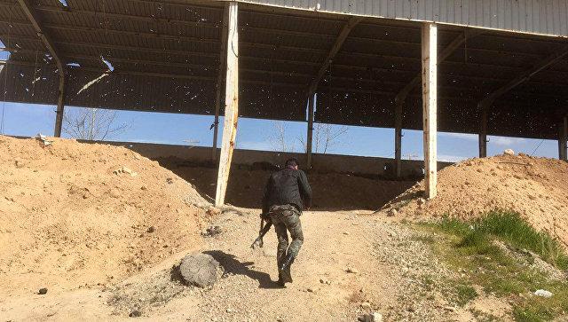 Мастерскую попроизводству химических боеприпасов обнаружили вВосточной Гуте