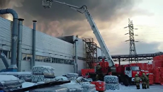 Пожар в Перми