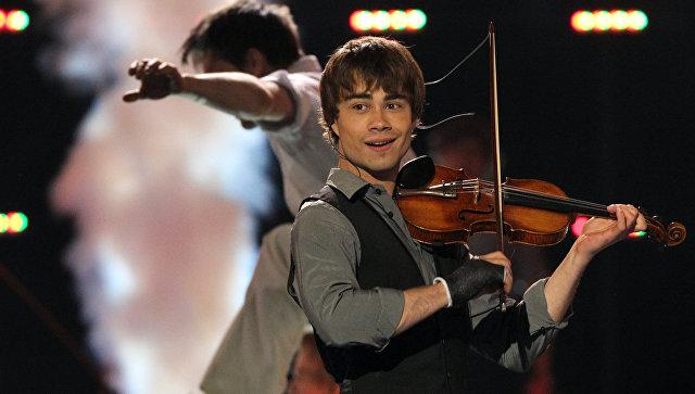 Победитель Евровидения-2009 Александр Рыбак. Архивное фото