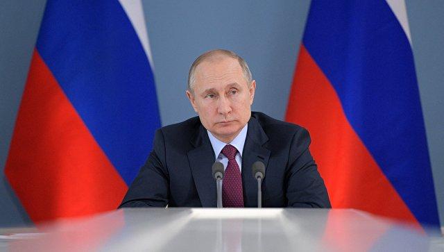 «Унас все есть»,— Путин пообещал недопустить гонки вооружений